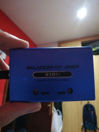 cargador lipo 7.4 y 11.1v airsoft