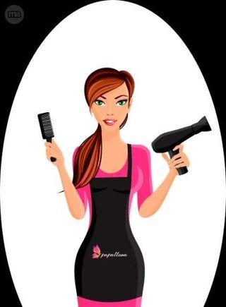 chika joven peluquera,a domicilio económica