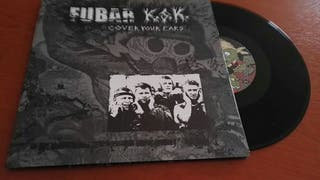"F.U.B.A.R/KSK split grindcore 10"" vinyl"