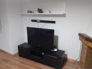 mueble salon y mesa elevable