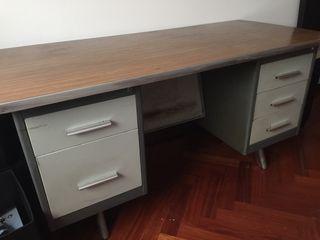 Escritorio mesa oficina de segunda mano por 130 en a coru a en wallapop - Escritorio oficina segunda mano ...