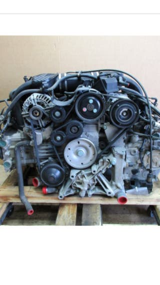Motor porsche boxster