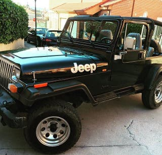 Jeep Wrangler 2.5 Hard Top