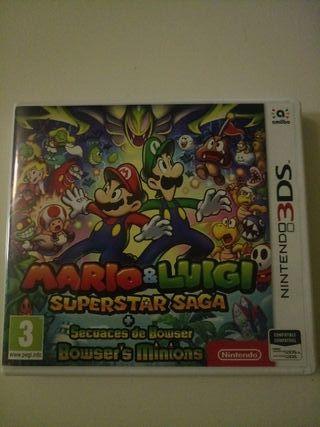 Mario y Luigi superstar saga 3ds