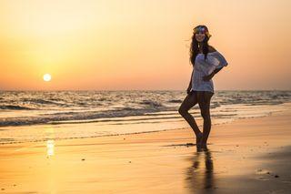 Book fotográfico profesional en la playa