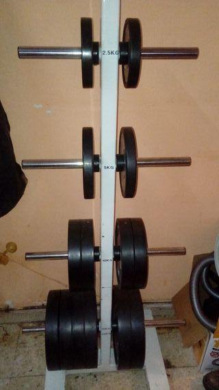 disquero de pesas