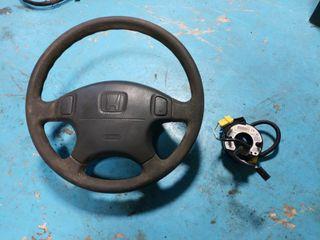 vendo volante honda y anillo airbag