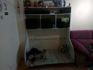 mueble cama perros