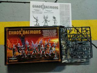 warhammer 40k, demonios, caos