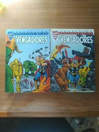 Cómics Biblioteca Marvel Los Vengadores