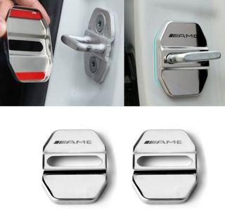 Embellecedor AMG PLATA Cerradura puerta Mercedes