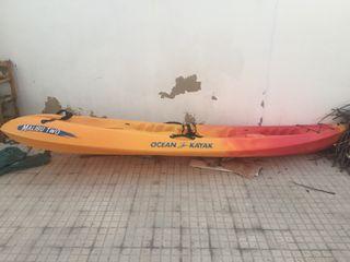 Kayak doble completo
