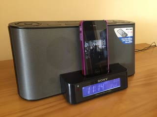 Reloj despertador digital SONY