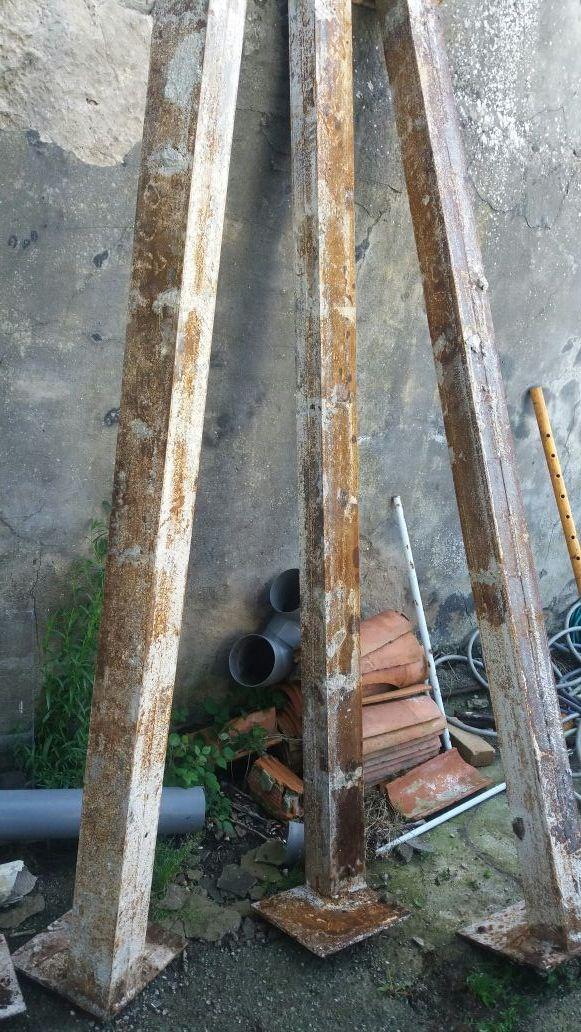 Pilares de hierro de segunda mano en santander en wallapop - Pilares de hierro ...