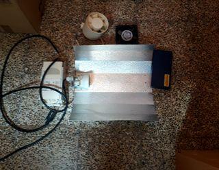 reflector+extractores+medidor ph