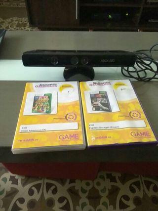 kinet xbox y 2 juegos