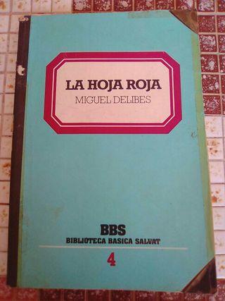 """libro """"la hoja roja"""" de miguel delibes"""