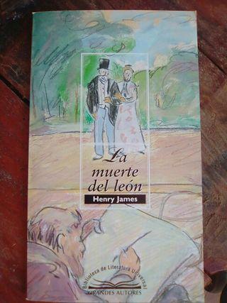 """libro """"la muerte del león"""""""