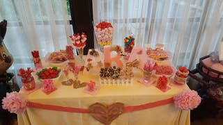 preparacion de mesas dulces