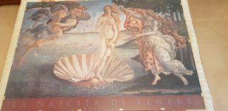Puzzle Nacimiento de Venus, montado.