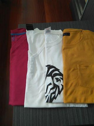 lote camisetas
