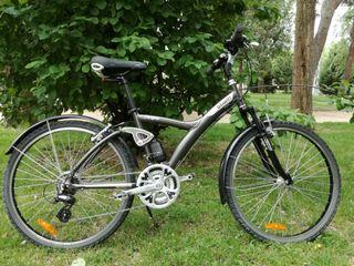 Bicicleta doble suspensión B'twin 7original.