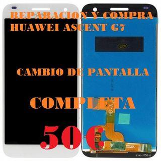 REPARACION HUAWEI G7 PANTALLA COMPLETA