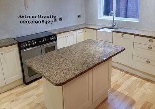Get Giallo Veneziano Granite Kitchen Worktop in UK
