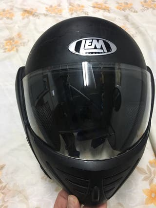 Casco de moto para niño