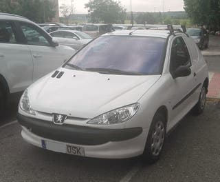Peugeot 206 1.4 HDI COMERCIAL AÑO 2006