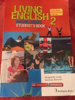 Libro Living English 2 bach