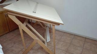 Mesa dibujo técnico.