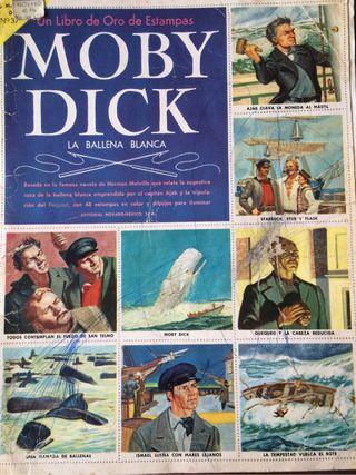 Álbum cromos Moby Dick