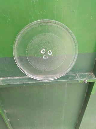 vendo platos de cristal para microondas ,