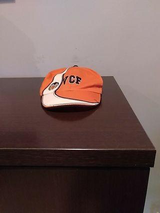 gorra del valencia c.f