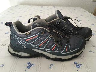 Zapatillas treking salomon talla EUR 41 y 1/3