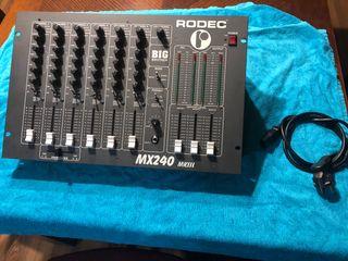Rodec mx 240 mk||| big brother ( mesa de mezclas)