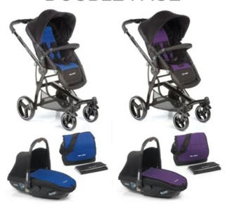 Carrito bebé 3 p.: capazo- maxicosi-silla paseo