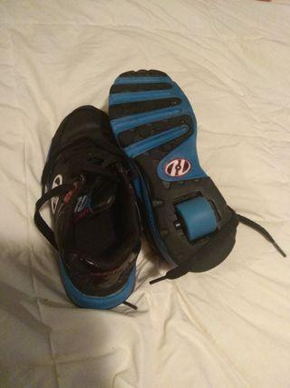 zapatillas con ruedas heels talla 33