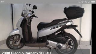 scooter Piaggio carnaby 200 cc