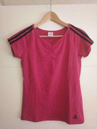 Camiseta mujer adidas