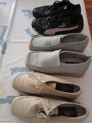 Zapatos de piel Oportunidad y bamba