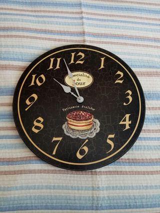Reloj pared estilo vintage