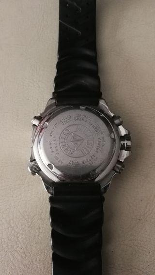 reloj de buceo citizen promaster aqualand