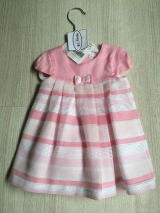 Vestido niña MAYORAL 4-6 meses