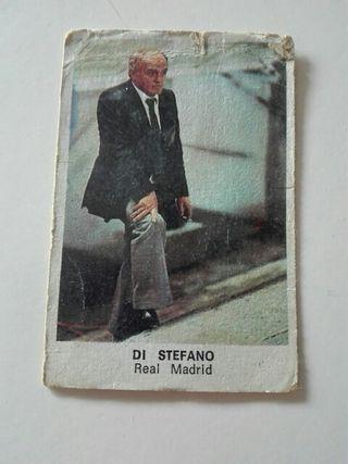 Cromo DI STEFANO entrenador