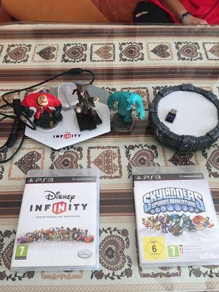 Pack Infinity y Skylanders Ps3