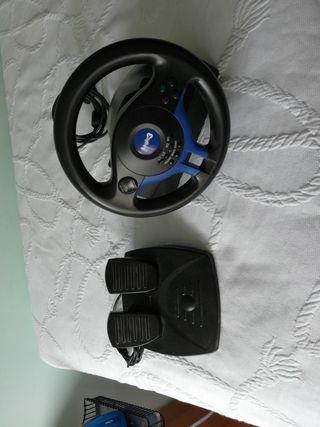 pedales y volante. play