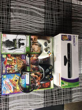 Juegos Xbox360 y Kinect