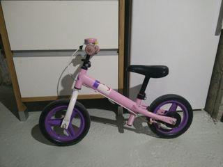 Bicicleta niña sin pedales
